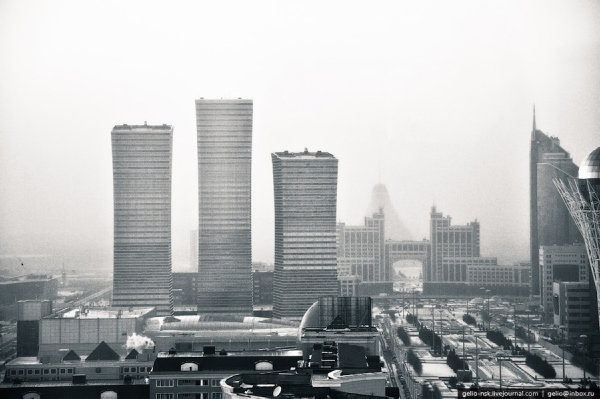 Астана с высоты