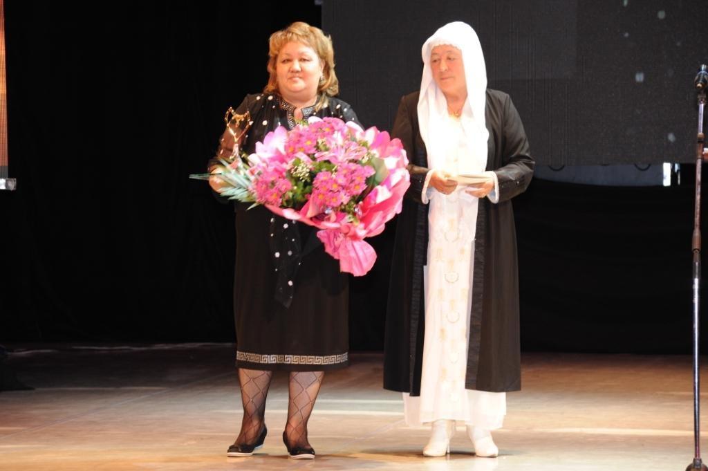 лауреат Смыкова Наталья и Амина кажы Аджибаева