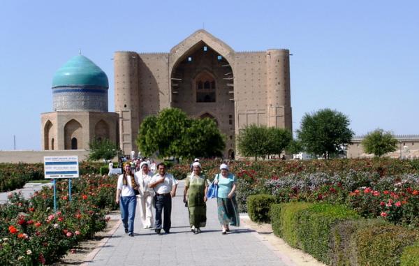 Туркестан, Мавзолей Ходжи Ахмеда Ясави