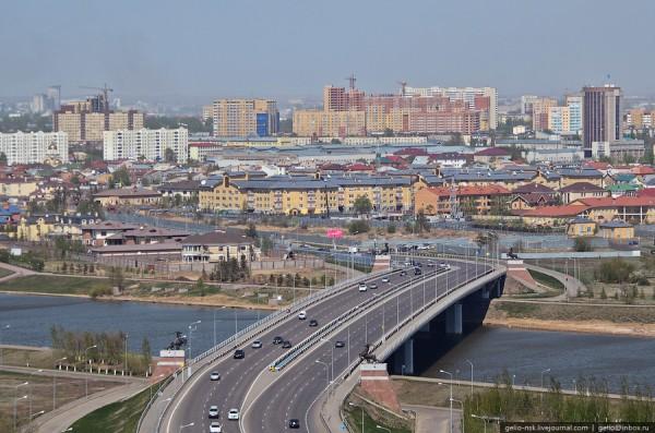 Вид на реку Ишим