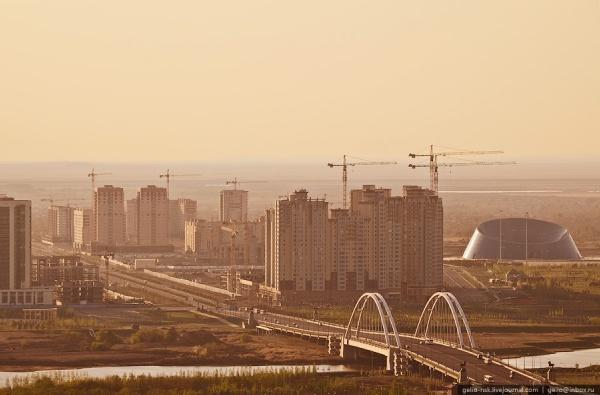 """Мост М-1 и ЖК """"Хайвилл"""""""