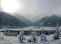 Озеро Иссык зимой