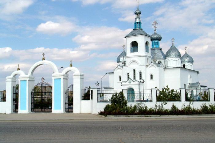 Церковь в Актау