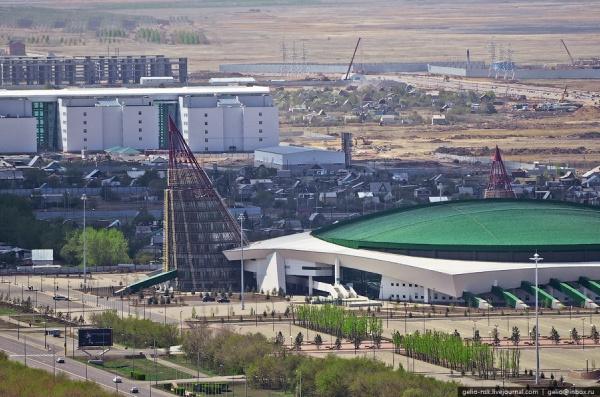 Крытый конькобежный стадион