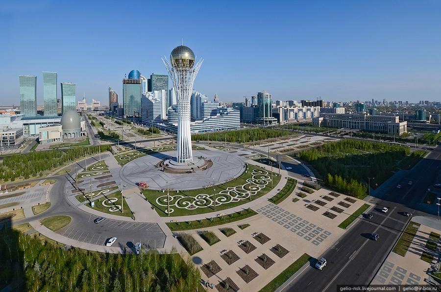Город Астана — столица Казахстана