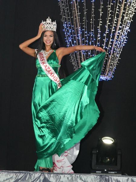 Победа на конкурсе Мисс Казахстан 2010