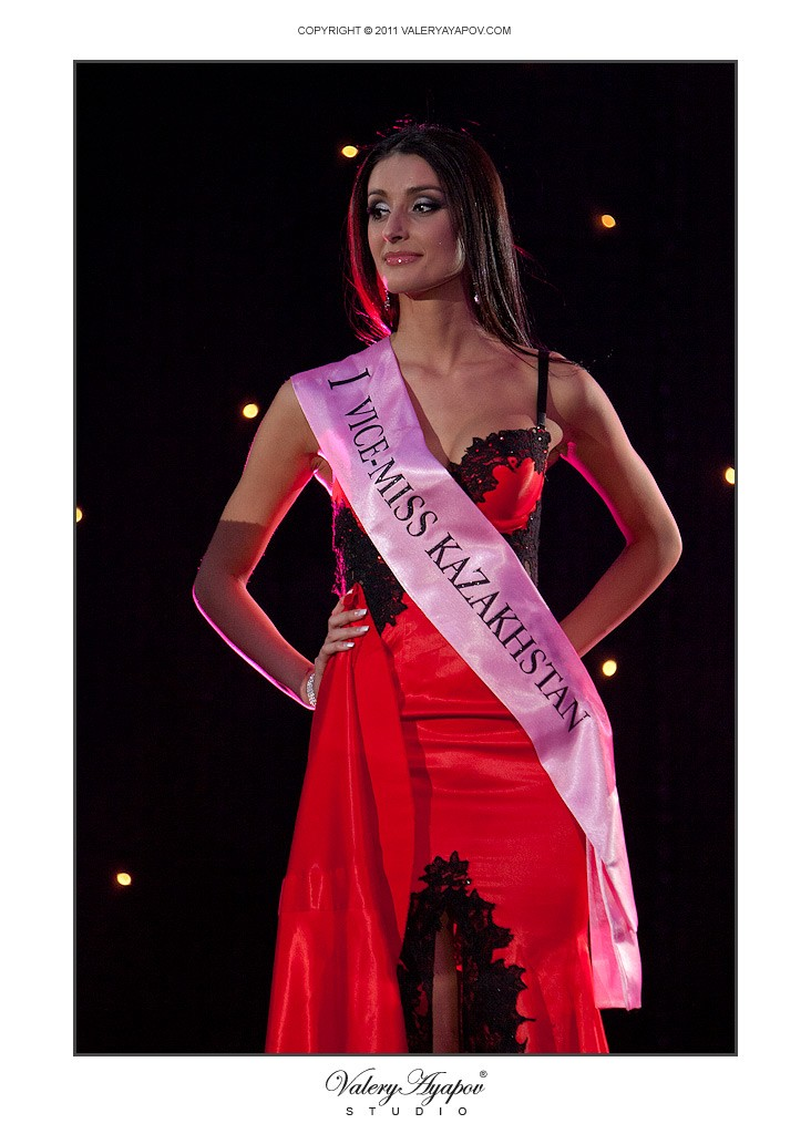 I Вице-мисс Казахстан 2011 — Мария Горбулько