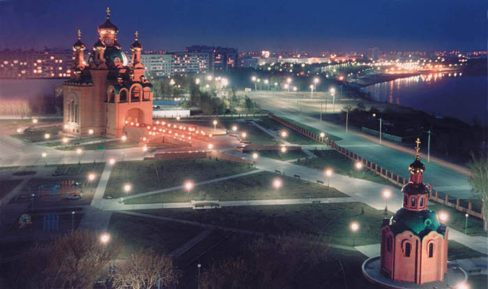 Православный собор в Павлодаре