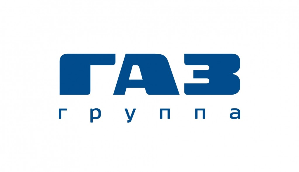 Logo GAZ Group Blue RUS